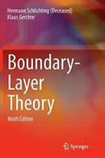 Boundary-Layer Theory, (Deceased), Hermann 9783662570951 Fast Free Shipping,,