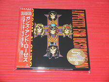 2016 Encore Press  GUNS N' ROSES Appetite For Destruction  JAPAN MINI LP SHM CD