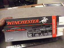 Winchester Universal 100 Rd Box , 12 Game & Target , Empty Box Held 5 Boxes of