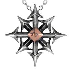 Alchemy chaostar Ciondolo, KAOS Magia, Stella del caos, i punti della Bussola + scatola regalo gratuito
