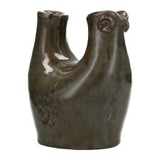 A 1960's Bror Borsum studio pottery bird vase Swedish