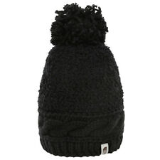 The North Face Black Ladies Warm Winter Womens Mixed Stitch Beanie Hat
