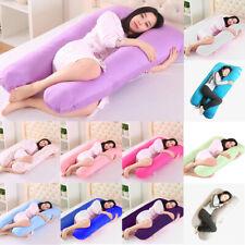 Pregnancy/ Maternity Pillow U shaped, Full  Bolster, Cushion Purple