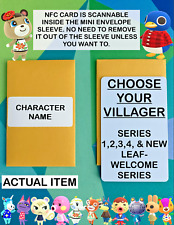 CHOOSE ANY VILLAGER YOU WANT! Animal Crossing New Horizons Amiibo NFC Cards ACNH