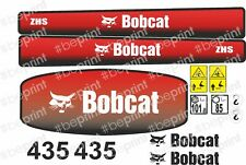 Adesivi Bobcat 435  Kit  mini escavatore