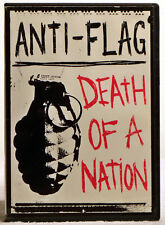Anti-Flag - The Death of a Nation (DVD, 2004) Live from the Terror State Tour