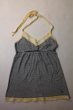 WOMENS S 100% COTTON SPAGHETTI STRAP TOP BY ABERCROMBIE & FITCH, BRAND NEW!
