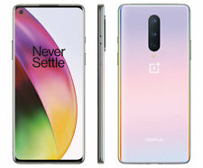 OnePlus 8 - 5G 128GB - Interstellar Glow (T-Mobile Metropcs) Unlocked A stock