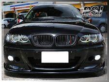 HM Style Carbon Fiber Front Bumper Lip for M3 Only BMW 2001-2006 E46 M3 2Dr