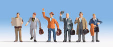 * Noch N 36226 set viaggiatori scala N 6pz per plastico o diorama New