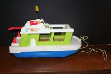 VTG 1972 Fischer-Price Toy Yacht Boat USA EUC