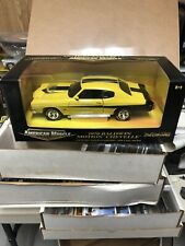 Ertl American Muscle 1970 Baldwin Motion Chevelle 454 1/18 Scale Yellow