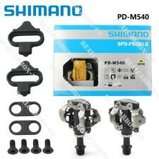 SHIMANO PD-M540 MTB Mountain Bike Clipless Pedals With SPD Cleats 01A