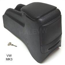 VW MK3 Jetta Golf Center Console Rear Cup Holder Black 93- 98 Armrest 1HM863319B