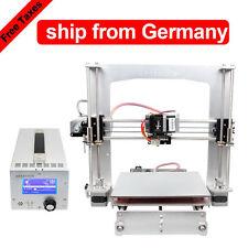 Zollfrei GEEETECH 3D Drucker Prusa i3 A Pro+3 in 1 Box Aluminium rahmen MK8 LCD