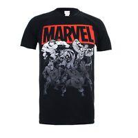 Marvel Collective Men's T-Shirt - S-XXL - Thor Iron Man The Hulk Captain America