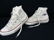 CONVERSE All Star Chuck Taylor High Top Trainers, White, Size UK 5, Eur 37.5