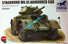 Bronco MODELS 1/48 scale ZB48001 Staghound MK.III ARMOURED CAR model kit 2019