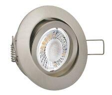 10x LED Einbaustrahler GU10 5W Einbauleuchte Set Deckenstrahler Einbauspot 230V