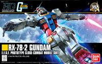 RX-78-2 GUNDAM E.F.S.F Mobile Suit Revive Bandai Kit HG 1:144 17925 Gundam UC