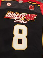 Rare TEAM 91 LACROSSE CLUB MARYLAND JERSEY LAX Shirt XL
