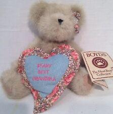 "Boyds Bear Named Granny B. Bear Plush 8"" Poseable"