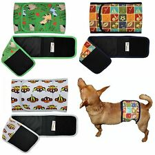 Dog Diaper BELLY BAND Male Wrap Reusable Washable NEOPRENE Small Large XXS- XXXL