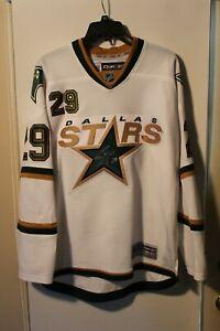 NHL Dallas Stars #29 STEVE OTT Signed Autographed Small RBK Reebok White Jersey