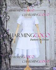 Alice Madness Returns Cosplay Alice White Dress Sweet Costume Girl Halloween