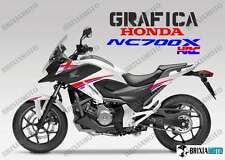 ADESIVI DECAL STICKERS HONDA NC700X NC 700 X RACING CARENA GRAFICA HRC