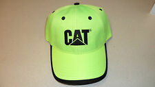 Caterpillar High-visibility Ball Cap Hat Cat Logo