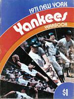 1971,New York Yankees Yearbook, baseball,magazine, Thurman Munson, Bobby Murcer