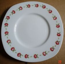 Susie Cooper Bone China APPLE GAY Square Plate