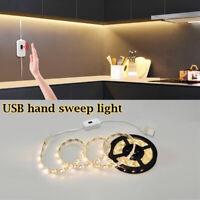 0.5-5M LED Cabinet Light Motion Sensor 2835 LED Strip lamp Makeup Mirror Light