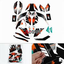 Full Custom Decals Graphics Stickers Vinyl Set For KTM DUKE 125 200 390