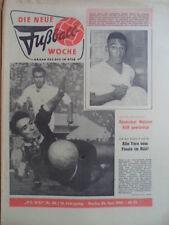 FUWO 26- 26.6. 1962 Pele Soskic WM-Finale Brasilien-CSSR 3:1 ASK Vorwärts Berlin