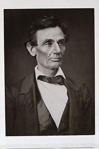 ABRAHAM LINCOLN, 1860  Art-Postcard  NEW