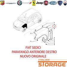 FIAT SEDICI PARAFANGO ANTERIORE DESTRO NUOVO ORIGINALE 71742876 71771831