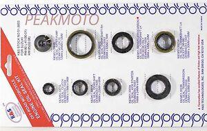 Suzuki RM80 1990-2001, RM85 2002-2009 K&S 51-3003 Engine Oil Seal Kit