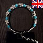 New Tibetan Silver Turquoise Elephant Blue Charm Bracelet Bangle Jewellery UK