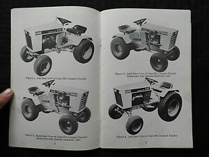 1968-1972 CUSTODIA 220 222 442 444 LAWN & GARDEN TRACTOR OPERATORS MANUAL