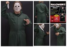 Official Halloween II Deluxe Coveralls Michael Myers Costume Trick or Treat Stds