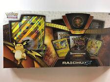Pokemon TCG Schimmernde Legenden Raichu-GX Kollektion NEU OVP Deutsch