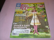 Tole World Magazine April 2003 20 Spring Projects Quick & Easy Basecoats