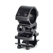 "UNIVERSAL QD BARREL MOUNT RING 1"" for FLASHLIGHT LIGHT SCOPE GUN RIFLE SHOTGUN"