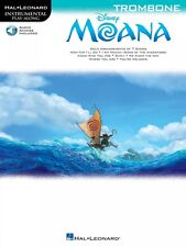 Moana Trombone Instrumental Play-Along Book and Audio New 000224801