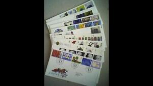 10 UK Royal Mail FIRST DAY COVERS - 1999-2002 Commems incl. Golden Jubilee.