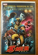 Official Handbook of the Marvel Universe X-Men 2004 #1 NM- Uncanny X-Men 1 Comic