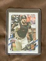 Joey Bart San Francisco Giants lot of 3 rookie baseball cards