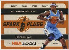 AL HARRINGTON 2012-13 PANINI NBA HOOPS SPARK PLUGS  #11
